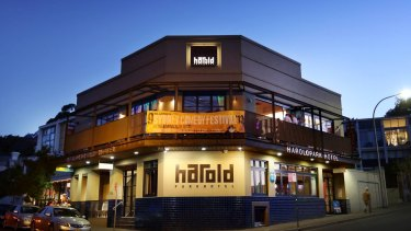 The day the music died: The Harold Park Hotel in Glebe.
