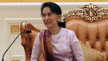 With Aung San Suu Kyi as the face of the government, sanctions on Myanmar have been dropped and the country has been partly rehabilitated in the eyes of the international community.