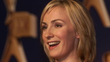 Lisa McCune won the Gold Logie four times, this was the last occasion.