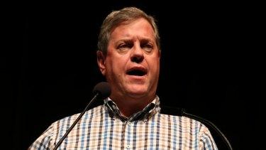 Opposition Leader Tim Nicholls.