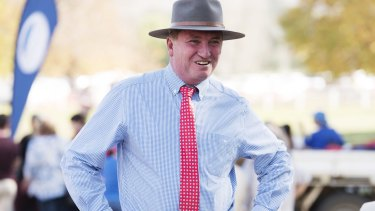 Deputy Prime Minister Barnaby Joyce want to see more government agencies move to the bush.