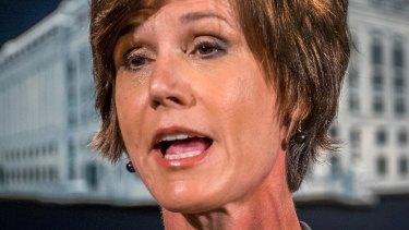 Former acting Attorney General Sally Yates.