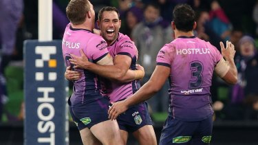 Melbourne Storm: The team that everyone wants to become, according to Canberra hooker Josh Hodgson.