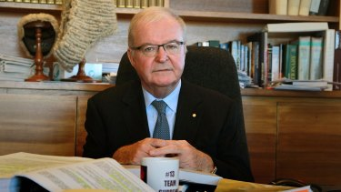 Chief Justice Tom Bathurst exhibited a wry sense of humour in a speech on Wednesday night.