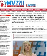 Part of the online trolling used against Finnish journalist Jessikka Aro.