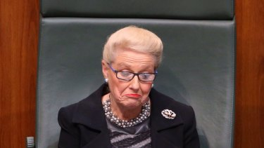 Speaker Bronwyn Bishop has repaid the money spent flying her by helicopter to a Liberal Party fundraiser, but she has yet to say she is sorry.