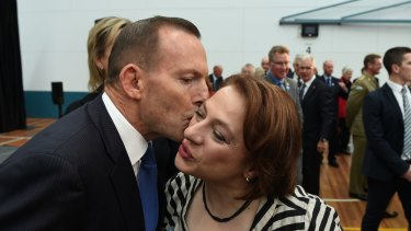 Mrs Mirabella first entered Parliament in 2001 and is closely aligned with former prime minister Tony Abbott.