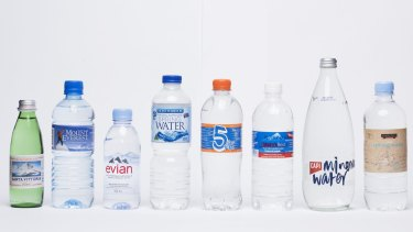 Fairfax Media's bottled water survey looked at 34 brands.