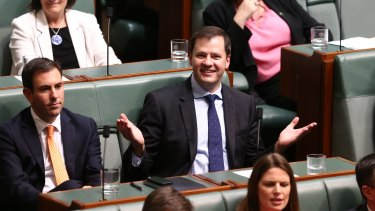 Labor MP Ed Husic was the first to be ejected.