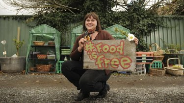 For Redan resident Lou Ridsdale, green anarchy is all about sharing.