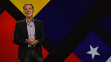 """Reed Hastings, the founder of Netflix, said """"Trump's actions are hurting Netflix employees around the world, and are so un-American it pains us all""""."""