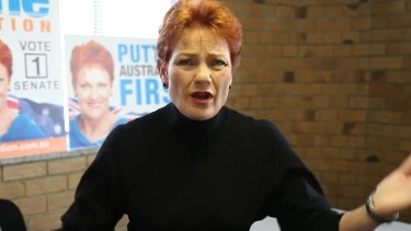 The more Pauline Hanson espouses her views, the more she will be seen to lack substance.