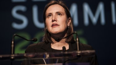 Federal Minister for Revenue and Financial Services Kelly O'Dwyer was a senior investment executive at NAB between 2007 and her preselection 2009.