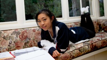 """""""I want to have that experience of being surrounded by dynamic people who are interested in big things."""": Nikki Liang from Pymble Ladies' College is applying to Harvard, Columbia and Yale."""