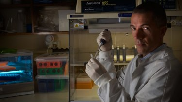 Jeremy Austin, director at the Centre for Ancient DNA at Adelaide University.