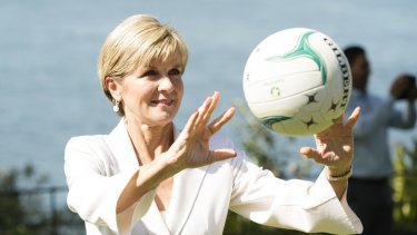 Minister for Foreign Affairs, Julie Bishop, said Eddie McGuire's comments should be put in context.