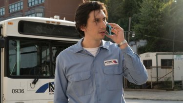 Actor Adam Driver's natural urgency adds to the unease beneath the surface of the movie <i>Paterson</i>.