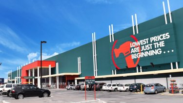 It's understood Wesfarmers will rebrand up to nine British Homebase stores as Bunnings.