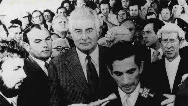 The day Gough Whitlam was dismissed as prime minister, November 11, 1975.
