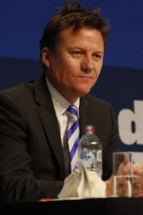 North Melbourne chairman James Brayshaw.