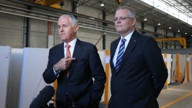 Treasurer Scott Morrison has a family trust. Malcolm Turnbull does not
