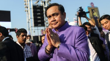 Prayuth Chan-ocha, Thailand's Prime Minister and head of the country's ruling junta.