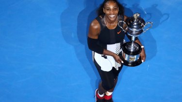 Serena Williams has eclipsed Steffi Graf's record.