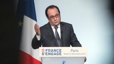 French President Francois Hollande in Paris last week.