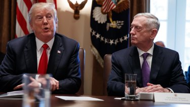 For Secretary of Defense Jim Mattis, the military planning serves to placate President Donald Trump.