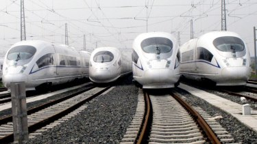 The federal government's infrastructure advisory agency says high speed trains could be running between Canberra and Sydney within 15 years.