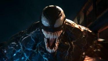 Venom has a tongue the size of a baby anaconda.