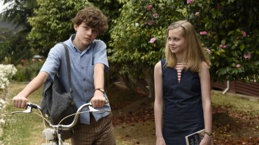 Levi Miller and Angourie Rice in the M-rated Jasper Jones.