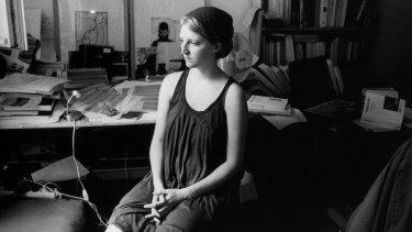 Portrait d'une jeune femme, pigment print by Thomas Boivin. i