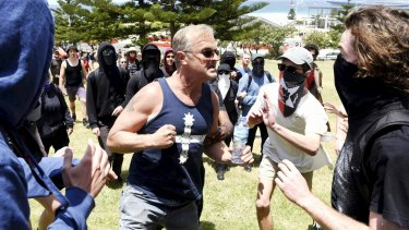 Opposing groups clash at the 10th anniversary of the Cronulla race riots.