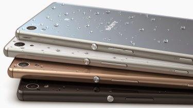 Sony's Xperia Z3.