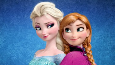 There are more little girls in the world called 'Elsa' thanks to the hit Disney film Frozen.