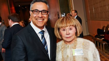 The bond between Fahour and Jeanne Pratt has strengthened.