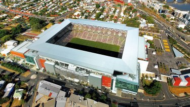 Suncorp Stadium could host the biggest boxing bout of the year.