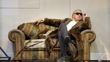 James Johnson as The Wanderer in Opera Australia?s 2016 production of Siegfried.