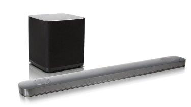 LG's SJ9 soundbar: Big booming Dolby Atmos sound.
