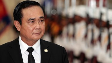 Thailand's Prime Minister Prayuth Chan-ocha.