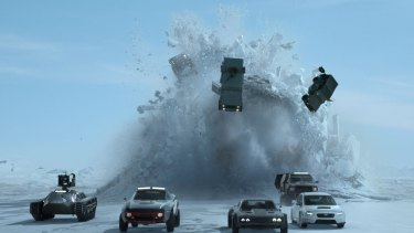 Expect automotive mayhem in <i>The Fate of the Furious</I>.