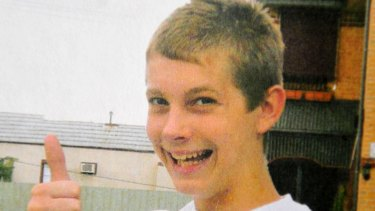 Tyler Cassidy, who was shot dead at a skate park in Northcote in 2008.