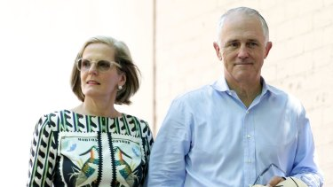 Lucy and Malcolm Turnbull.