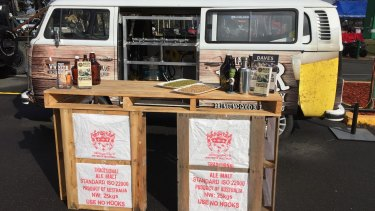 That Beer Guy will be selling craft beer from a 1975 VW Kombi at Hall markets on Sunday.