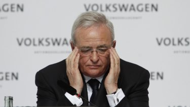 Martin Winterkorn, ex-chief executive officer of Volkswagen. New reports suggest the company's board was made aware of the emissions issue as far back as 2011.