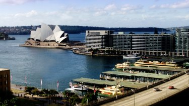 The Cahill Expressway has long been considered an eyesore in Circular Quay.