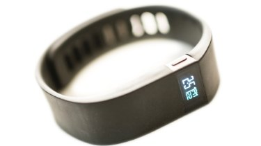 Fitness tracker Fitbit.