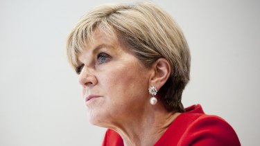"""Julie Bishop is looking to establish a new """"philosophical framework"""" to guide Australia's foreign policy."""