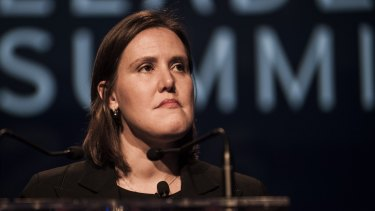 Kelly O'Dwyer has yet to clear up confusion over which companies should get the lower corporate tax rate.
